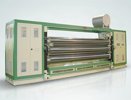 Fabric Calendering Machine