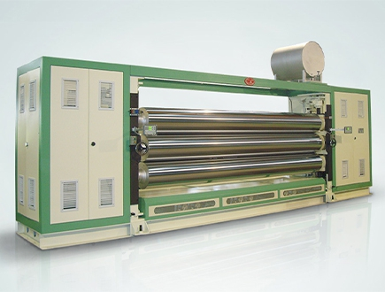 Fabric Calendering Machine
