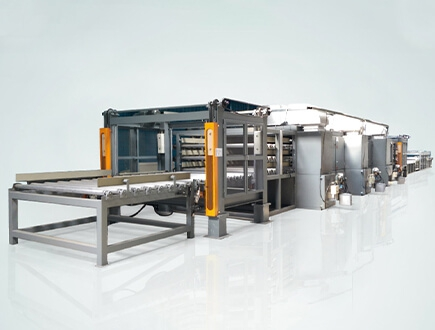 Roller Conveyor Nonwoven Oven